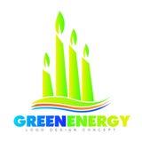 Eco energy green Stock Photos