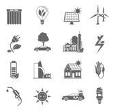 Eco Energy Icon Stock Photos