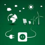 Eco Energy Illustration Stock Images