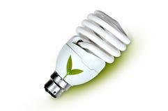 Eco energy lamp Royalty Free Stock Photos