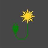 Eco energy logo Stock Photos