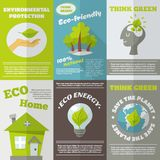 Eco Energy Poster Royalty Free Stock Images
