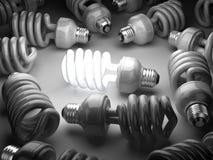 Eco energy saving light bulb concept Royalty Free Stock Photo