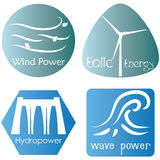 Eco energy Royalty Free Stock Photos