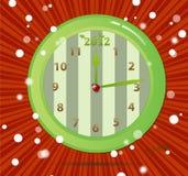 eco för 2012 klockor Royaltyfri Bild
