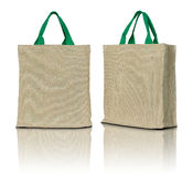 Eco fabric bag Royalty Free Stock Photos