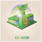 Eco Fabrik Lizenzfreies Stockfoto