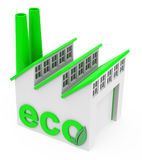 The eco factory Stock Photography