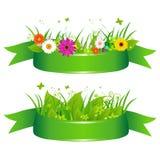 Eco Farbbänder Stockfoto