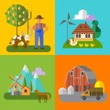 Eco farm Royalty Free Stock Photography