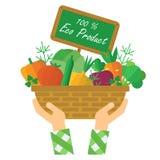 Eco farm product Royalty Free Stock Photos