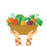 Eco farmer product Stock Photos