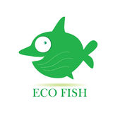 Eco fish vector illustration Stock Photography