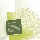 Eco - fond artistique floral Photo libre de droits