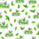 Eco food background. Seamless pattern for design. Animation illustrations. Handwork. Handdrawn sketch Stock Images