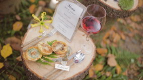 Eco forest wedding wedding table