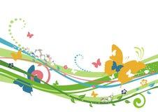 Eco Frühlingshintergrund Stockbilder