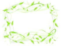 Eco frame Royalty Free Stock Image
