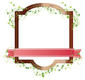 Eco Frame Royalty Free Stock Image