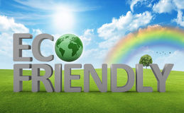 Eco-freindly concept Stock Image