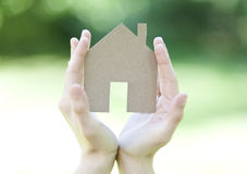 Eco freindly house concept Stock Photography