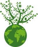 Eco freundliche Erde Stockfoto