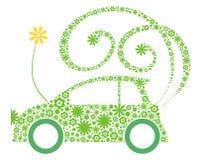 Eco freundliches Auto Stockfotos