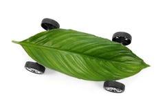 Eco freundliches Auto Stockbild