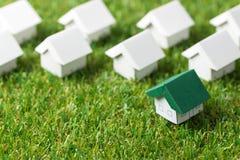 Eco freundliches Haus Stockfoto