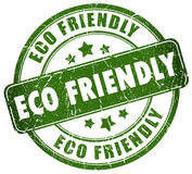 Eco friendly. Illustration of eco friendly stamp Stock Photo