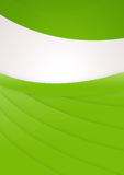 Eco-Friendly Background. A green abstract background with space for text Vector Illustration