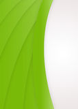 Eco-Friendly Background. A green abstract background with space for text Royalty Free Illustration