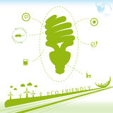 Eco Friendly Background vector illustration