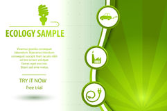 Eco Friendly Background Royalty Free Stock Photography