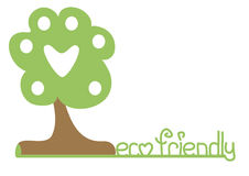 Eco friendly banner Stock Image
