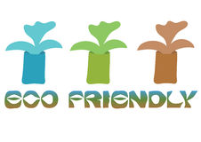 Eco friendly banner Royalty Free Stock Image