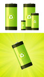 Eco-Friendly Battery Royalty Free Stock Photography