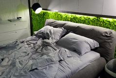 Eco-friendly bedroom Royalty Free Stock Photo