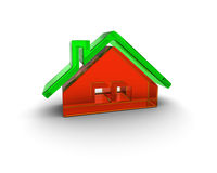 Eco friendly building Royalty Free Stock Image