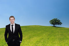 Eco-friendly business Royalty Free Stock Photo