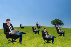 Eco-friendly business Stock Image