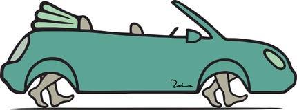 Eco-friendly car Royalty Free Stock Image