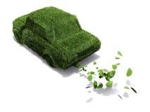 Eco-friendly car Royalty Free Stock Photo