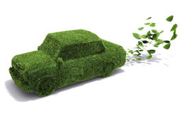 Eco-friendly car Royalty Free Stock Photos