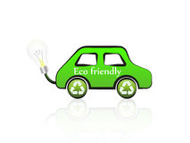 Eco friendly car Stock Photo