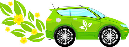 Eco friendly car Royalty Free Stock Photos