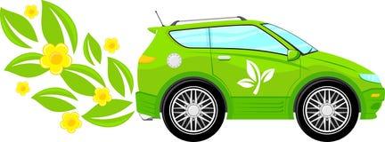 Eco friendly car Royalty Free Stock Photos