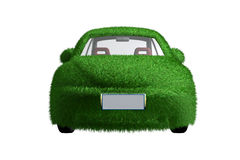 Eco-friendly car front view. Eco-friendly car with clipping path, alpha channel available upon request Royalty Free Stock Photo