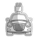 eco friendly car icon image Royalty Free Stock Photos