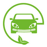eco friendly car icon image Stock Image